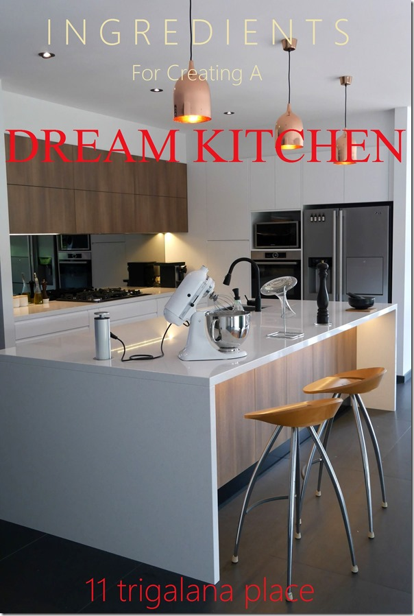 Ingredients for creating a dream kitchen