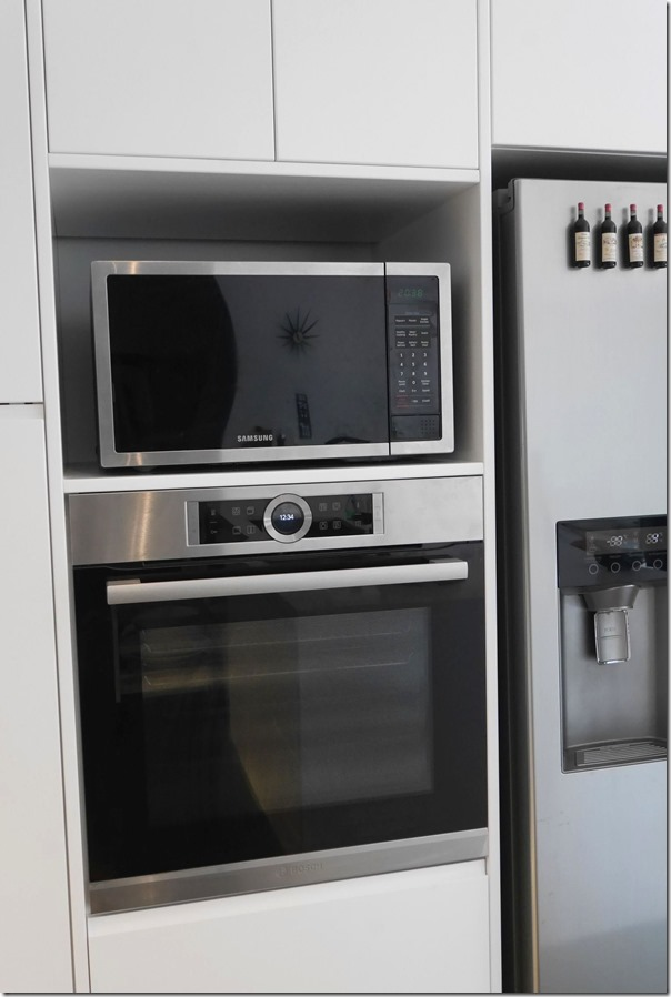 Samsung microwave oven and 600mm Bosch pyrolytic oven