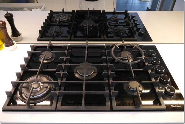 Electrolux 5-ring burner gas cooktop