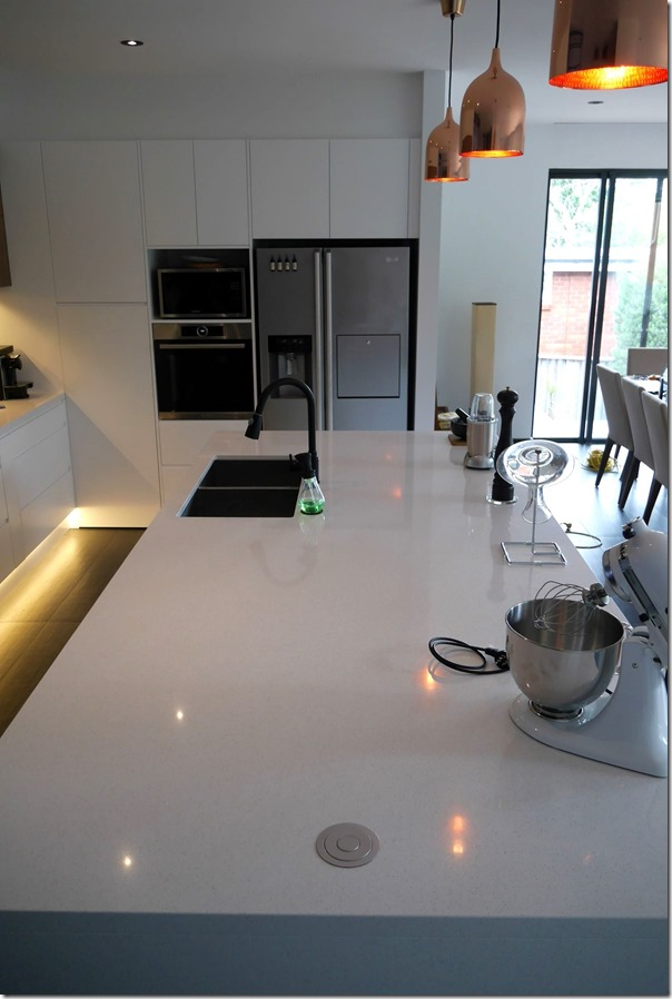 The new 3 metre x 1.4 metre island benchtop